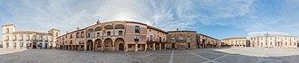 Medinaceli - 360° view of Plaza Mayor (Main square).