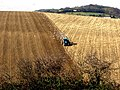 Ploughing in February near Brading, Isle of Wight - geograph.org.uk - 64153.jpg