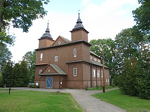 Narew, Podlaskie Voivodeship - Roman Catholic church