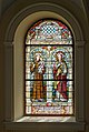 Poertschach Pfarrkirche hl Johannes Chor-Glasfenster Sponsor Josef Rapatz 20082015 1465.jpg