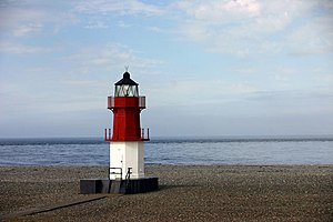 Point of Ayre Lighthouse - Image: Point of ayre small lighthouse