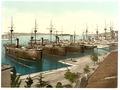 Pola, the Navy Yard, Istria, Austro-Hungary-LCCN2002710940.tif