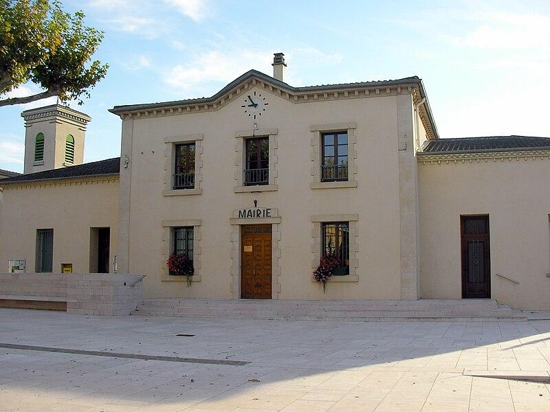 Town Hall of Pont-de-l'Isère (Drôme/France)