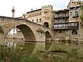 Pont medieval de Vall-de-roures - panoramio.jpg