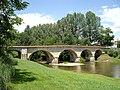 Pont sur l'Arros à Saint-Sever-de-Rustan (Hautes-Pyrénées, France).JPG