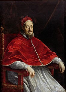 Pope Gregory XV died 8 July Pope Gregory XV.jpg