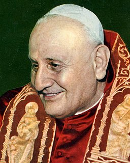 Pope John XXIII 261st Pope of the Catholic Church