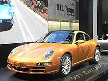 La 911 Targa 4S (generazione 997)