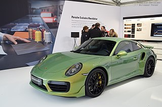 Seventh generation of the Porsche 911