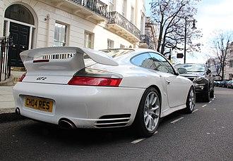 Porsche 911 GT2 - rear view