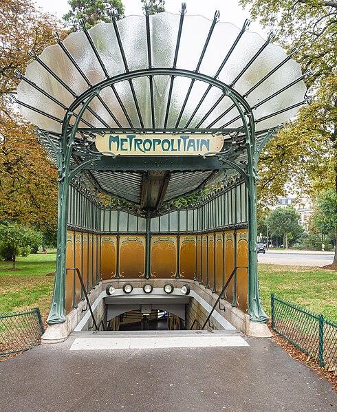 Fichier porte dauphine metro station entrance paris 25 september 2016 vikidia l - Portes ouvertes paris dauphine ...