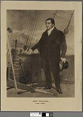 John Williams, 1796-1893 sic. 1839