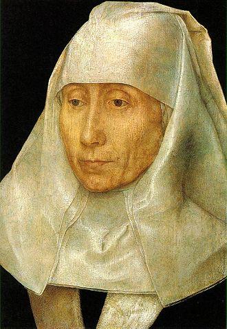 Portrait of an Elderly Woman - Portrait of an Old Woman, c 1480, 26.5 x 17.8cm (14.6 × 10.6in). Museum of Fine Arts, Houston