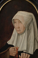 Portrait of Jacomina Claesdr van Ruyven (?-1509)