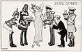 """Poster con disegno, """"Inutili offerte"""" - Autore- A. Bertiglia.jpg"""