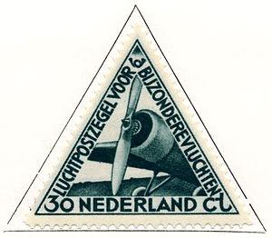Aart van Dobbenburgh - Image: Postzegel NL 1933 L nr 10