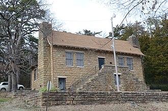 Poteau Community Building - Image: Poteau Community Building
