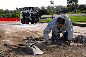 Maintenance, repair and operations - Road repair