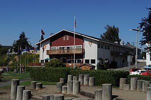 Poulsbo, Washington - Sons of Norway Hall, Poulsbo