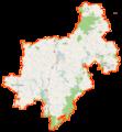 Powiat żniński location map.png