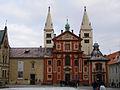Pražský hrad, č.p. 1 - kostel Svatého Jiří.JPG
