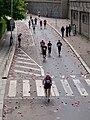 Pražský maraton, Nábřežní z Jiráskova mostu.jpg
