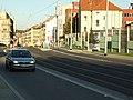 Praha, Radlice, tramvajová trať v Radlické ulici II.jpg