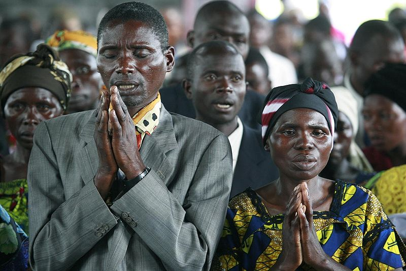 Prayers in Congo