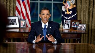 Reactions to the Deepwater Horizon oil spill - President Obama speaking in the Oval Office about the spill