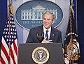 President George W. Bush Holds His Final Press Conference - DPLA - af2c722b88f2c2fb708fff2050b2e3f5.JPG