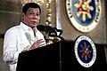 President Rodrigo Duterte delivers a message at the 2016 Metrobank Foundation's Outstanding Filipinos awarding ceremony.jpg