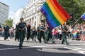 Pride in London 2016 - LGBT paramedics parading in Trafalgar Square.png