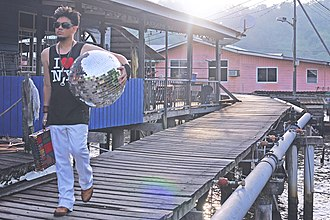 Prince Azim of Brunei - Prince Azim in Kampong Ayer, April 2014.