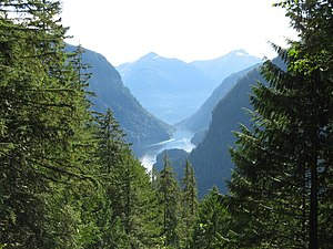 Monarchy in British Columbia - Image: Princess louisa inlet view
