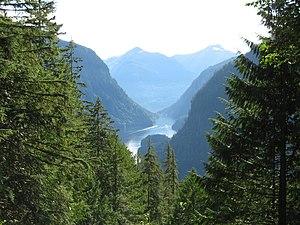 Monarchy in British Columbia - Image: Princess louisa inlet view