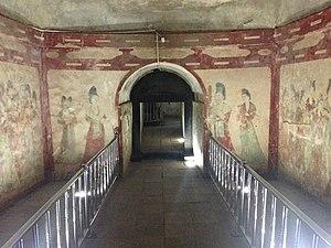 Princess Yongtai - Tomb ante-chamber, the burial chamber beyond