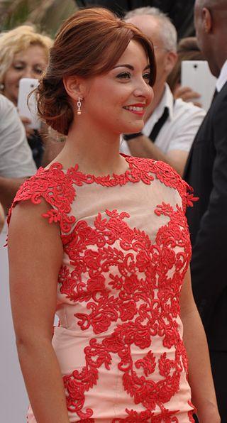 Priscilla Betti au Festival Télé de Monte-Carlo Television 2015. | Photo : Wikimedia.