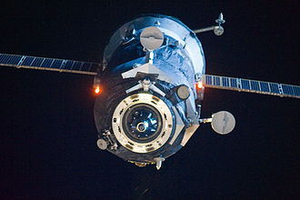 Progress M-03M - Progress M-03M departs the ISS.