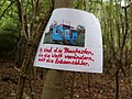 Protest sign in the Hambach forest 06.jpg