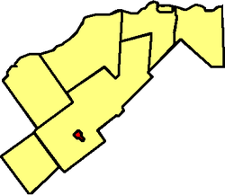 Casselman within the United Counties of Prescott and Russell