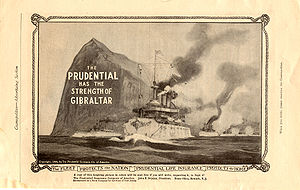 Prudential Financial - Old advert of the Prudential Insurance Co. of America (1909).