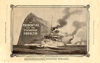 Prudential Financial - Old advert of the Prudential Insurance Co. of America (1909)