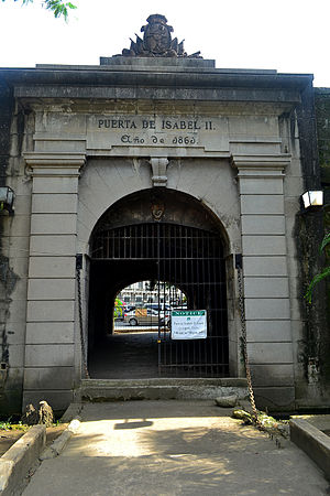 Gates of Intramuros - Puerta Isabel II