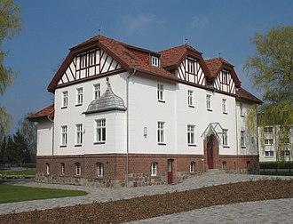 Putlitz - Image: Putlitz Burghofer Herrenhaus