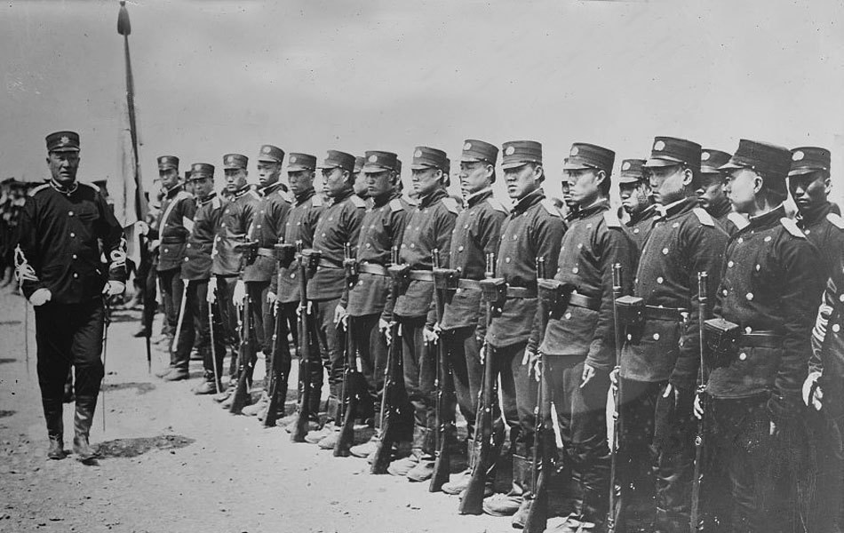 Qing new army 1905