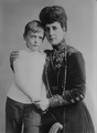 Queen Alexandra with her grandson Olav.png