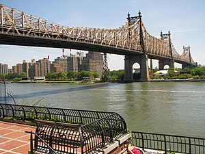 Queensboro Bridge - Ed Koch Queensboro Bridge in 2010
