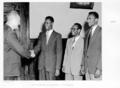 Queensland State Archives 4966 Visit of Ethiopian Delegation and Mr V Greoning 1953.png