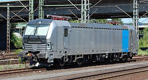 Vectron (locomotive) - Image: RAILPOOL 193 803 Harburg