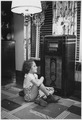 "REA, ""Little girl by radio"" - NARA - 195876.tif"
